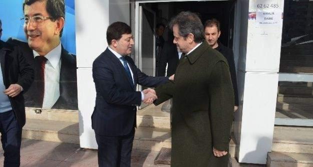 Yunanistan Büyükelçisi'nden Akar'a Ziyaret