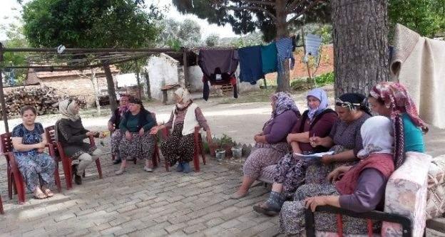 Aydın'da Kadın Çiftçi Eğitimleri Devam Ediyor