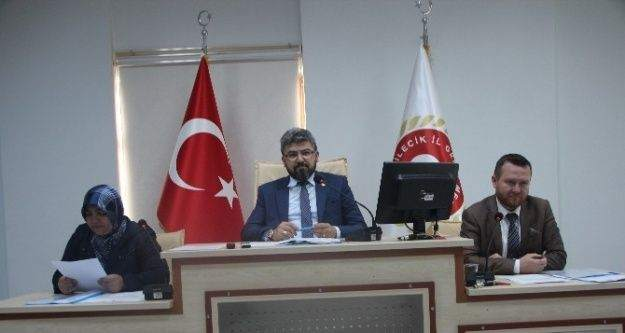 Bilecik İl Genel Meclisi Mayıs Ayı 2'inci Birleşimi Yapıldı