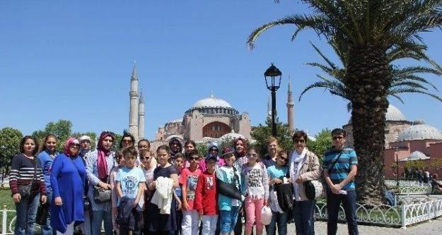 Hoca Ahmet Yesevi İlkokulu Öğrencileri İstanbul'u Gezdi