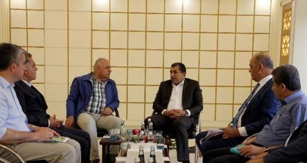 TİGEM Genel Müdürü Taşan'dan Başkan Atilla'ya Ziyaret