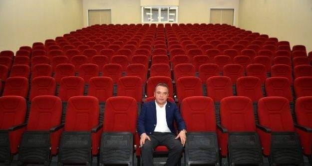 Başkan Böcek, Konyaaltı Cemevi'ni İnceledi