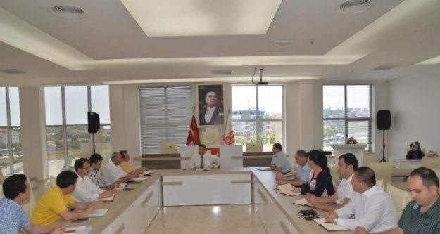 Başkan Yağcı'nın Haftalık İstişare Toplantısı