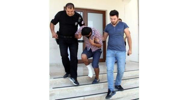 Kaçarken Ayağını Kıran Hırsız Hastanede Yakalandı