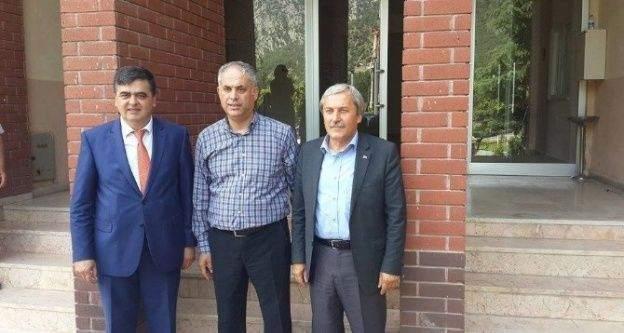 Osmaneli Ve Pazaryeri Belediye Başkanlarından Başkan Yaman'a Ziyaret