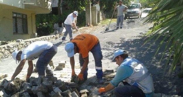 Osmaniye mahallesi ilhan sokak yenilendi