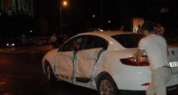 Başkent'te zincirleme trafik kazası