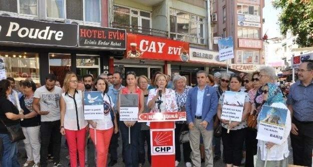 CHP'li Kadınlardan 1 Eylül açıklaması