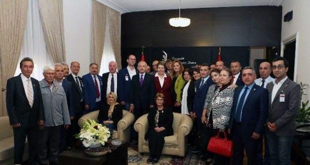 CHP Kütahya İl Başkanlığı heyetinden Kılıçdaroğlu'na ziyaret