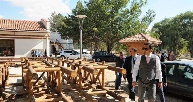 Güzler Piknik alanı inşaatında son aşama