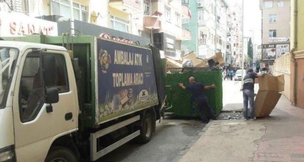 İzmit Belediyesi, geri dönüşüme önem veriyor