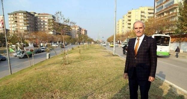 Bursa'da Fatih Sultan Mehmet Bulvarı'nın çehresi değişiyor