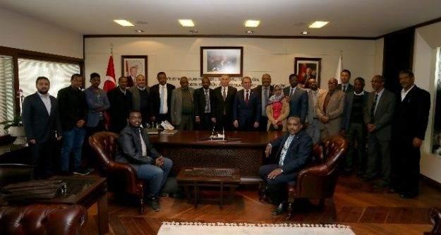 Sudan heyetinden, Başkan Zolan'a ziyaret