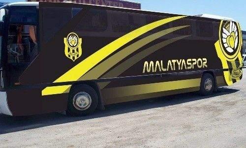 Yeni Malatyaspor'a yeni otobüs