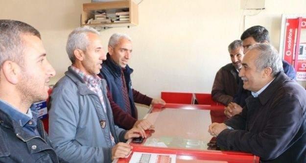 AK Parti Şanlıurfa Milletvekili Ahmet Eşref Fakıbaba Harran'da