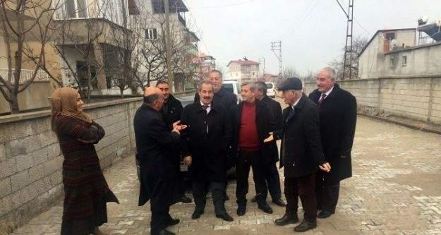 Başkan Gürsoy çalışmaları denetledi