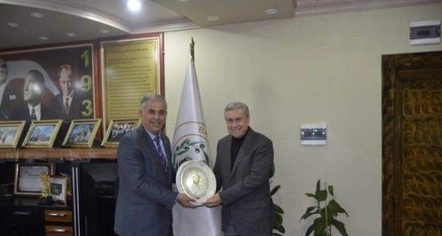 Müdür Sükan'dan Başkan Yaman'a ziyaret
