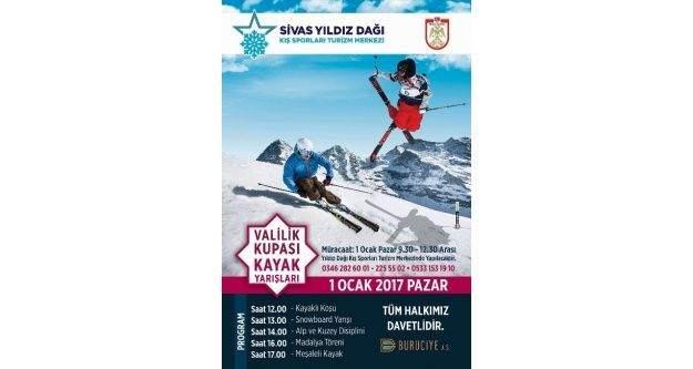 Yıldız Dağı'nda 'Valilik kupası kayak yarışmaları' yapılacak