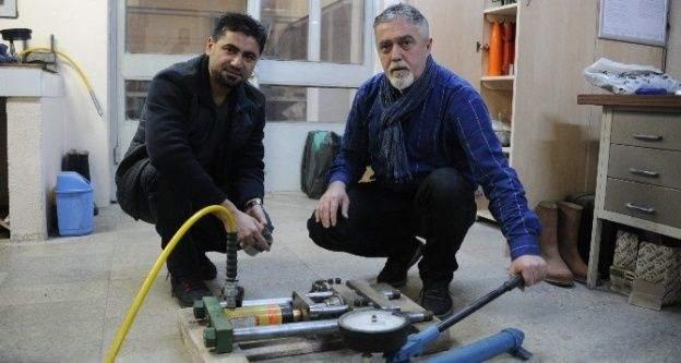 BEÜ'de geliştirilen taşınabilir çekme dayanımı cihazı; patent aldı