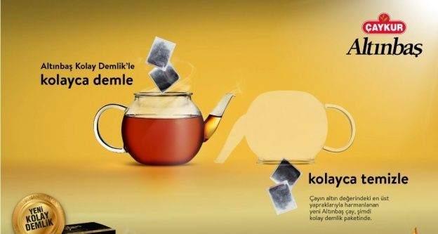 Çay demlemek daha da kolaylaşıyor