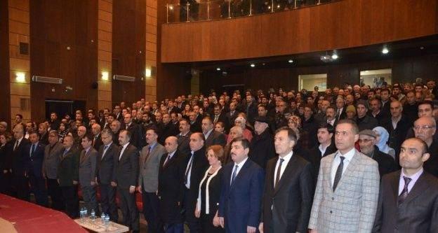Iğdır'da 'Yeni Anayasa ve Cumhurbaşkanlığı Sistemi' konulu konferans
