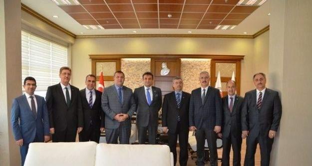 Kurum Müdürlerinden Cumhuriyet Başsavcısı Ercan'a Ziyaret