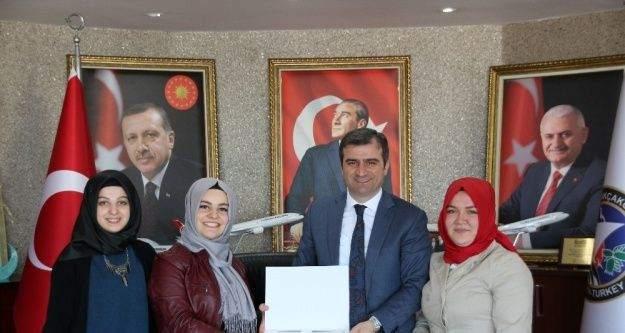 Öğrencilerden Başkan Yemenici'ye teşekkür