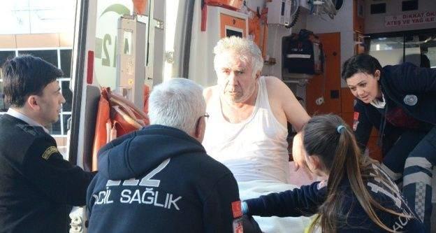 Porsuk Çayı'na düşen yaşlı adamı vatandaşlar kurtardı