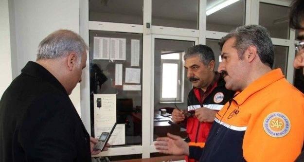 Vali Zorluoğlu, AFAD'da incelemelerde bulundu