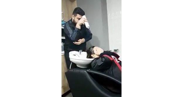 Yalovalı kuaför, 'Nusret' taklidiyle interneti salladı