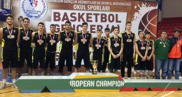 Banvit altyapısı sezona Türkiye ikinciliği ile başladı