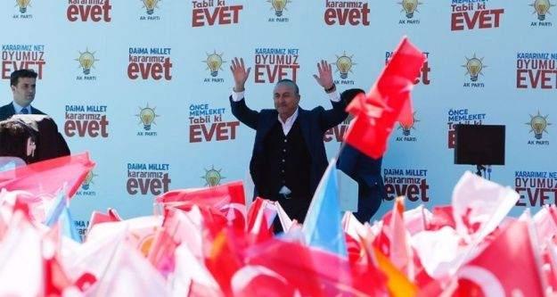 """Çavuşoğlu: 'Yeni sistemle Türkiye bağımsız ve daha güçlü olacak"""""""