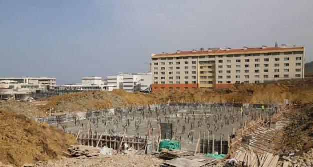 ODÜ Rektörlük binası inşaatı devam ediyor