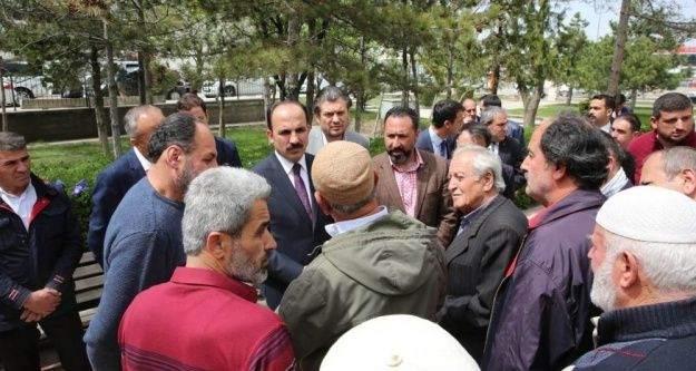 """Başkan Altay: 'Sanayi çalışanı gençlere önem veriyoruz"""""""