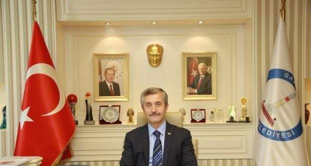 Başkan Tahmazoğlu'nun Miraç Kandili kutlaması