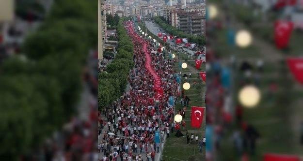 Bursa 23 Nisan'da ulusal egemenlik için yürüyor