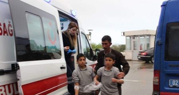 Ortaokul öğrencileri zehirlenme şüphesiyle hastaneye kaldırıldı