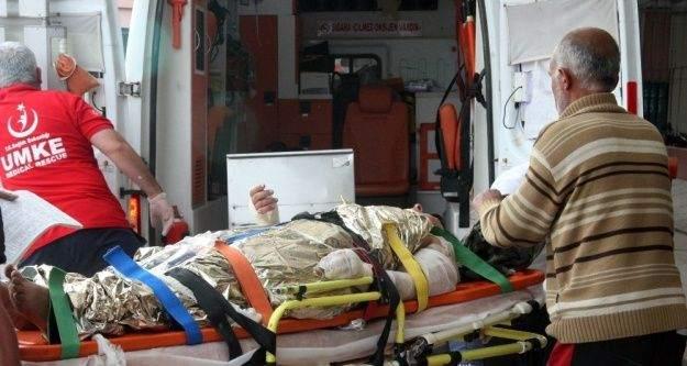 Suriye'de yaralanan 4 ÖSO askeri Kilis'e getirildi