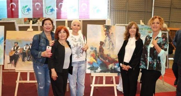Uluslararası Gazipaşa Sanat Sempozyumu sergisi açıldı