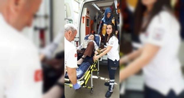 Abdest alırken düşen yaşlı adam yaralandı