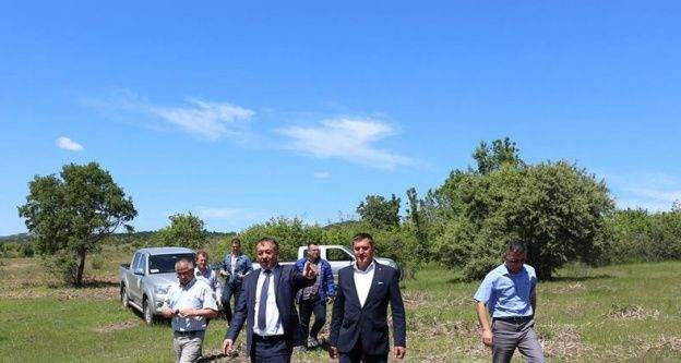 Edirne'de karaçalı mücadelesi