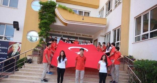 Gaziantep Kolej Vakfında 19 Mayıs 1919 Coşkusu