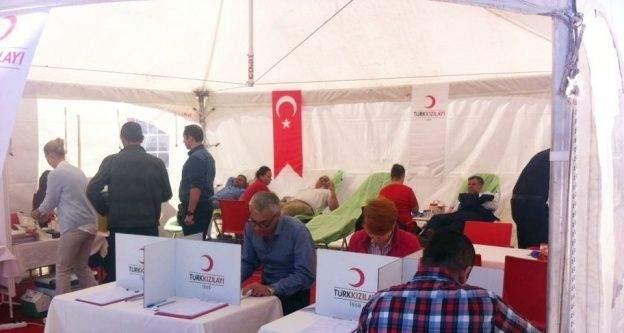 Kırklareli Belediyesi'nden kan bağışına destek