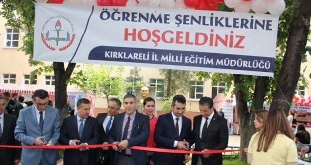 Kırklareli'nde 'Öğrenme Şenliği' açıldı
