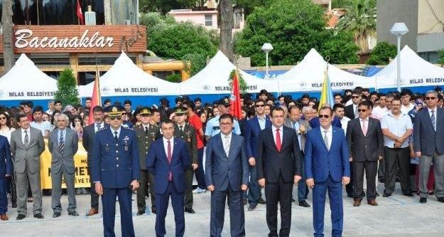 Milas'ta 19 Mayıs coşkusu