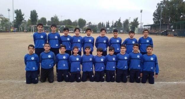 Akdeniz Beledispor U-13 takımı Mersin şampiyonu oldu