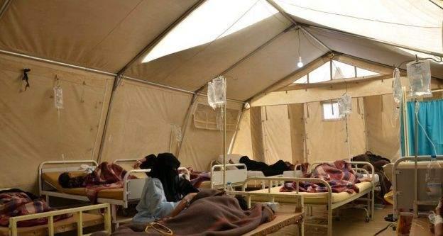 Kolera salgını Yemen'in 22 vilayetinden 19'una yayıldı