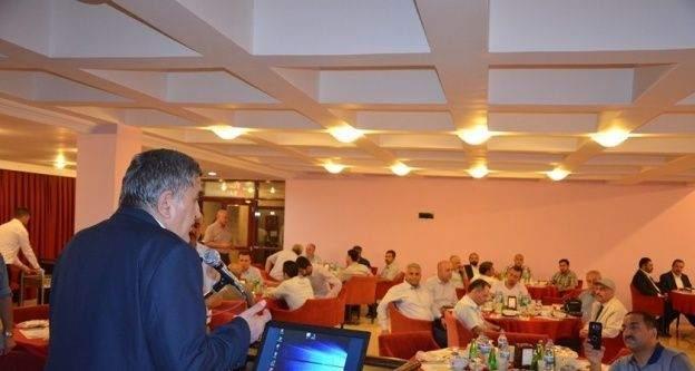 Stk'lar Harran Üniversitesinin iftarında buluştu