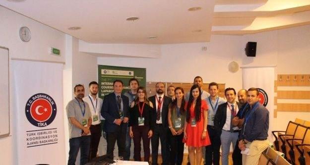 TİKA'dan Romanya'da laparoskopi kursu