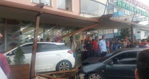 Trafikteki kovalamaca pastanede sona erdi